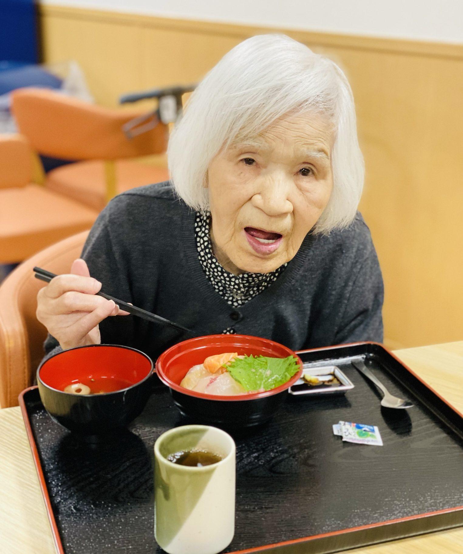 海鮮丼'の写真